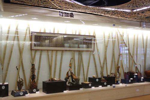 竹藝博物館現代作品展示區(2)