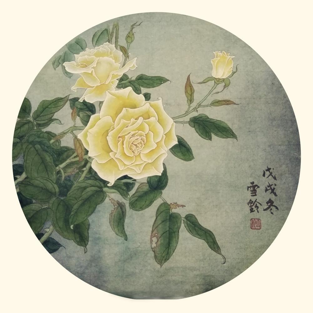 陳雪鈴 工筆黃玫瑰.jpg