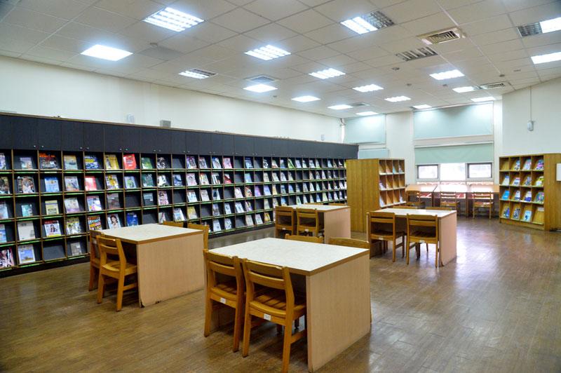 圖書館一樓室內一隅-2