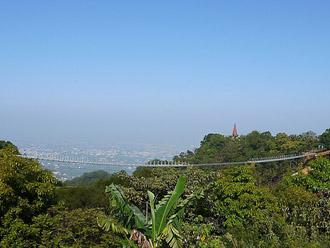 南投猴探井吊橋