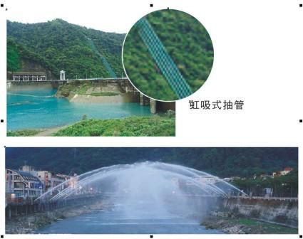 有「水落橋出」、「三潭映月」美景—明湖水庫
