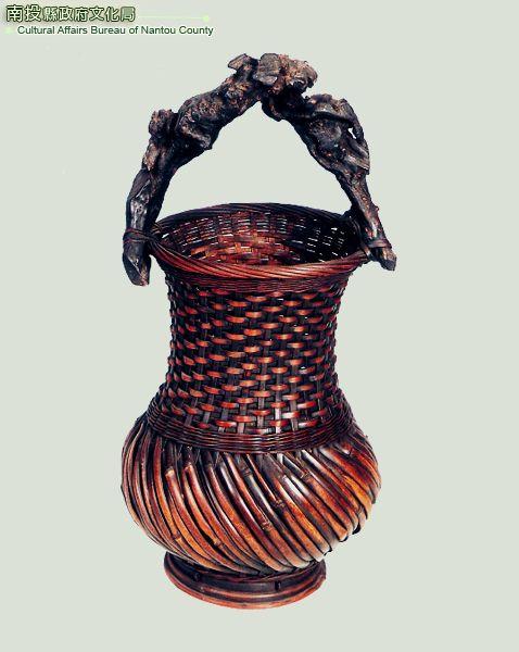 奇木竹編花器