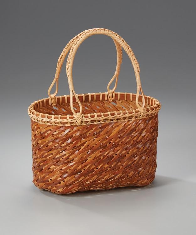 小魚編浴衣提籃